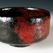 image of raku tea bowl