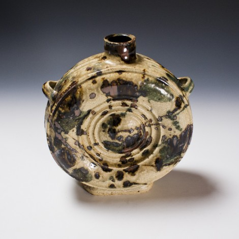 Haiyū Uchikaké Tsubo Jar by Kawai Takéichi: click to enlarge