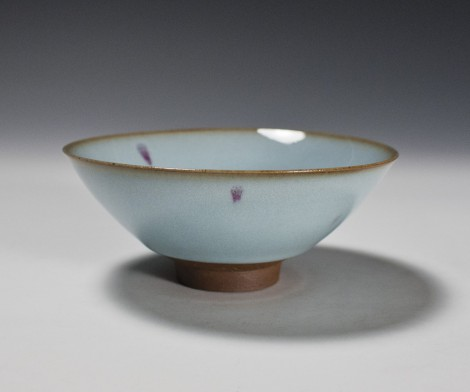 Seiji Kōsai Tea Ceremony Bowl by Kamada Kōji: click to enlarge