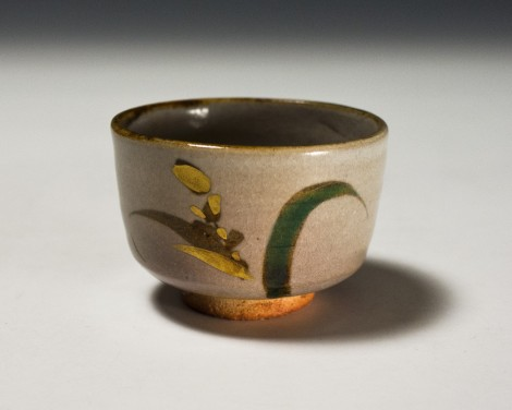 Iro-é Saké Cup by Wada Tōzan: click to enlarge
