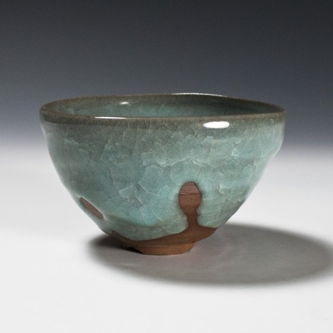 Seiji Tea Ceremony Bowl by Ikai Yūichi: click to enlarge
