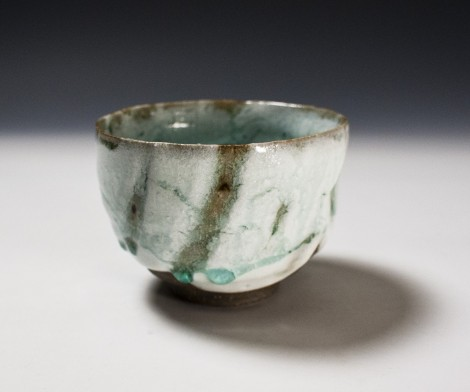 Haiyū Nisai Tea Ceremony Bowl by Ikai Yūichi: click to enlarge