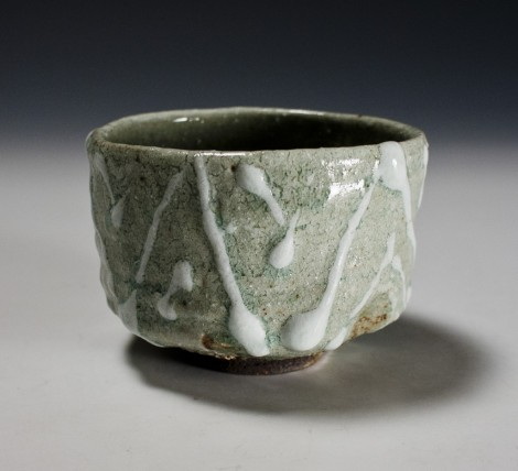 Haiyū Sansai Tea Ceremony Bowl by Ikai Yūichi: click to enlarge