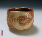Yōhen-kin Enso Tea Ceremony Bowl by Suzuki Tomio