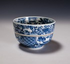 Sometsuké Tea Ceremony Bowl by Wada Tōzan