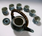 Gosu Mentori Green Tea Set by Kawai Tōru