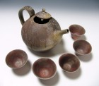 Dai Green Tea Set by Nagai Ken