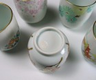 Iro-é Green Tea Cup Set by Kotoura Kiln