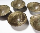 Katakuchi Bowl Set by Ikai Yūichi