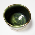 Ryokuyū Kinsai Tea Ceremony Bowl by Ikai Yūichi
